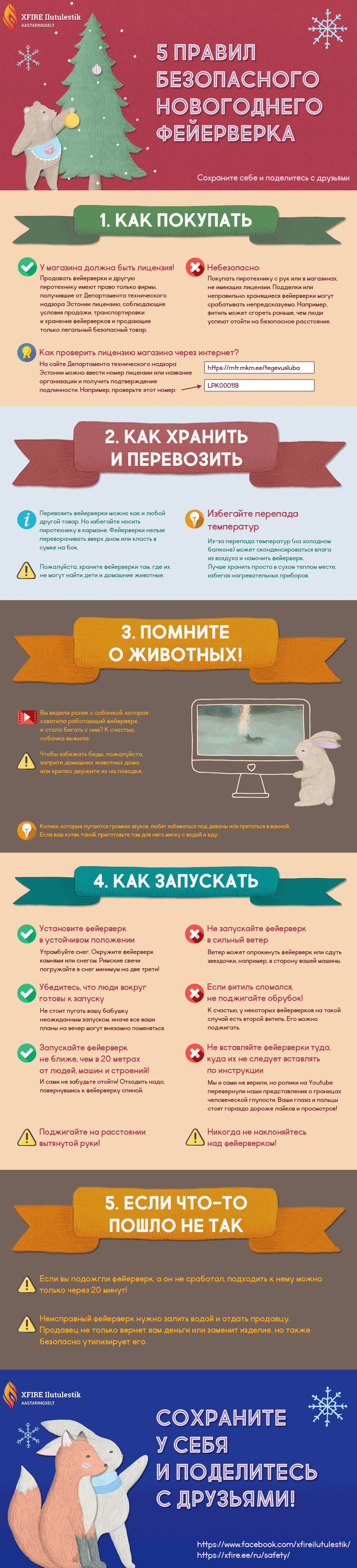 5 правил безопасного фейерверка